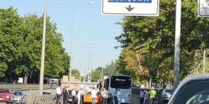 ASELSAN personeli taşıyan araca otobüs çarptı: 1 ölü