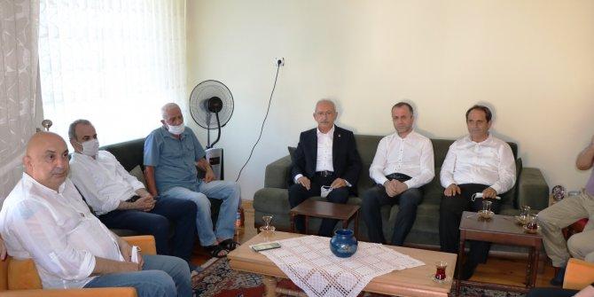 CHP Genel Başkanı Kılıçdaroğlu'ndan taziye ziyareti