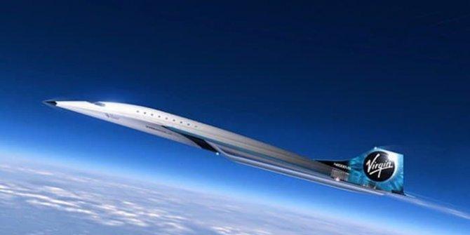 Uzay şirketi tasarımını paylaştı! Sesten 3 kat hızlı giden süpersonik jet