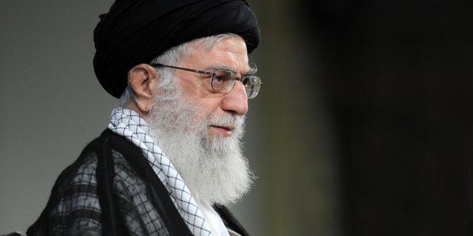 İran lideri Hamaney'den Lübnan'a taziye mesajı
