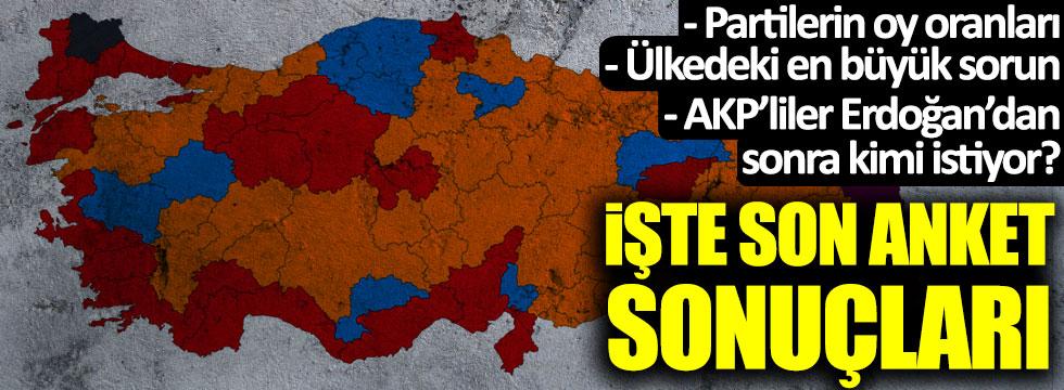 İşte AKP, MHP, CHP ve İYİ Parti'de son durum! Anket sonuçları açıklandı