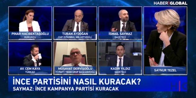 İsmail Saymaz Muharrem İnce'nin kuracağı partiyle ilgili detayları anlattı! Anket sonuçları ne diyor?