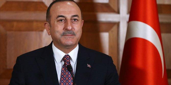Çavuşoğlu, Libya'dan AB'ye çağrı yaptı