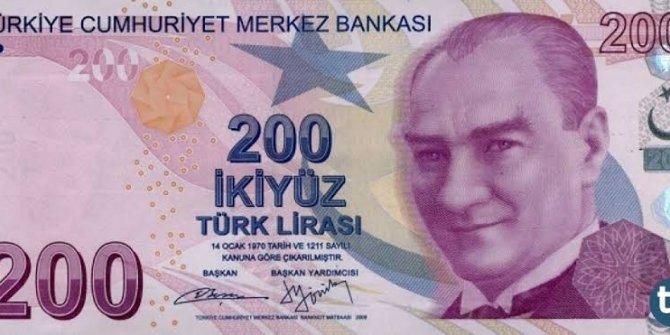 2009'da 131 dolar olan 200 TL'lik banknot, bugün kaç dolar değerinde?
