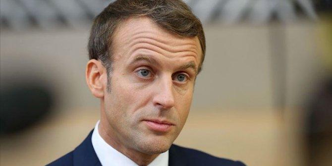 Fransa Cumhurbaşkanı Macron Lübnan'da