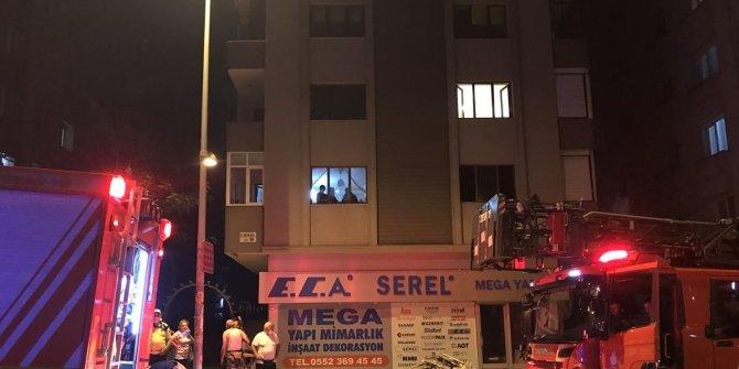 Ataşehir'de korkutan yangın! Yaralılar var