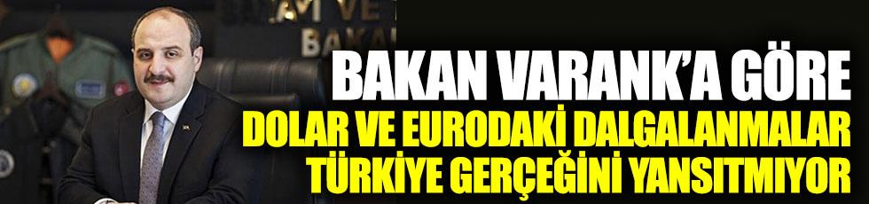 """Bakan Varank: """"Dolar ve eurodaki dalgalanmalar Türkiye gerçeğini yansıtmıyor"""""""