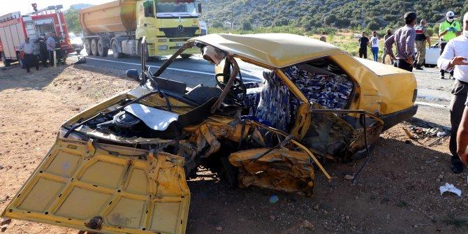 Antep'te feci kaza: 4'ü çocuk 11 yaralı