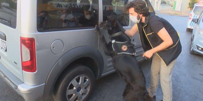 İstanbul polisindenhava destekli denetim