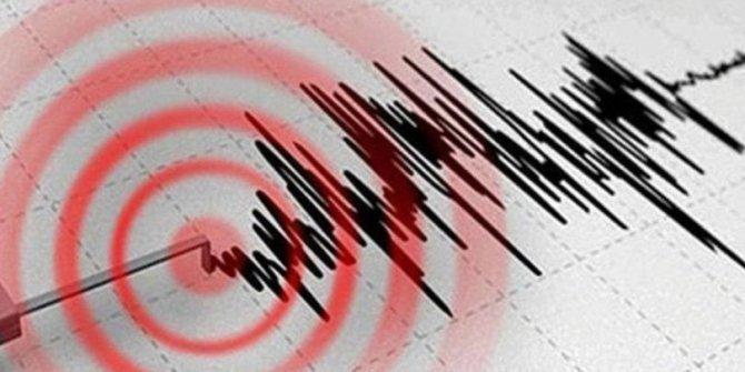 Çin4,8 büyüklüğünde deprem!