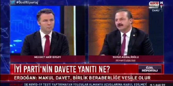 AKP ve MHP'den teklif geldi, İYİ Parti Sözcüsü Yavuz Ağıralioğlu aldıkları kararı açıkladı