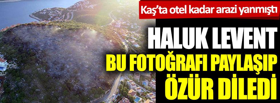 Haluk Levent bu fotoğrafı paylaşıp özür diledi