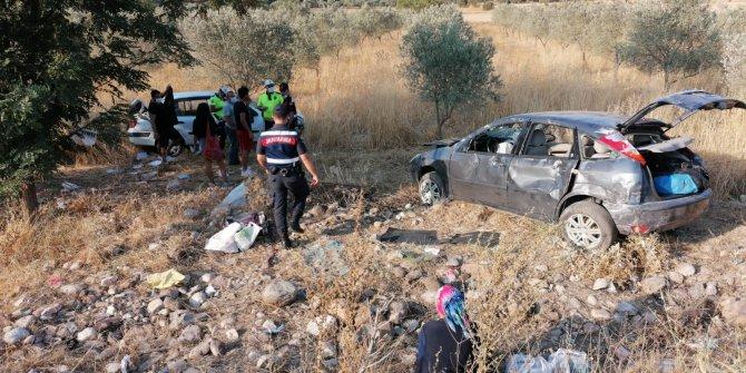 Muğla'da iki otomobil çarpıştı: 4 yaralı