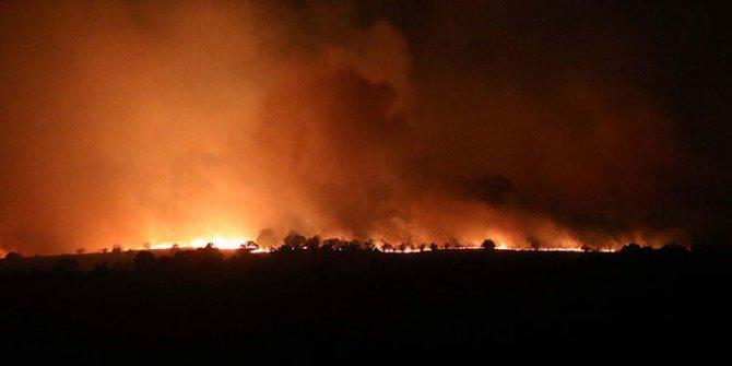 Türkiye'ye sıçramasına ramak kaldı! Korkunç yangın için harekete geçildi