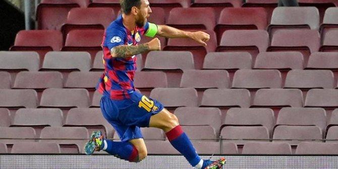 Yine Messi, yine bir ilk! Messi, Şampiyonlar Ligi tarihine geçti