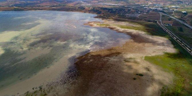 """Vatandaş """"Deprem habercisi mi"""" dedi, uzmanlar konuştu: Bu fotoğrafta Büyükçekmece Gölü var, görüyor musunuz?"""