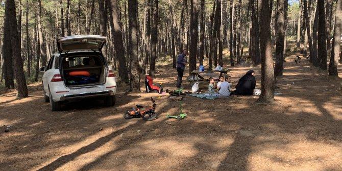 Polis tek tek söndürdü: Aydos Ormanı'nda mangal denetimi