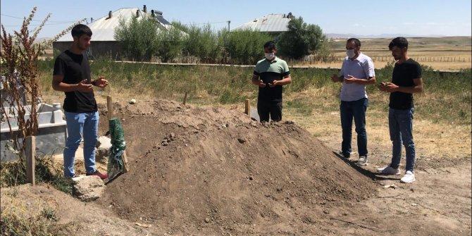 Kınaya giderken kazada ölen damat adayı toprağa verildi