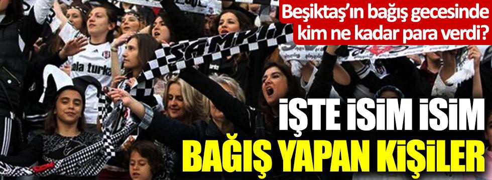 Beşiktaş'ın Bırakmam Seni bağış kampanyasında ne kadar toplandı? Kim ne kadar para verdi?