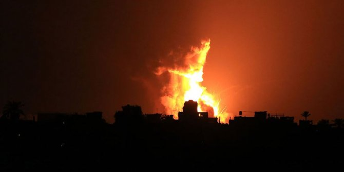 İsrail Gazze'de gözlem noktasını vurdu