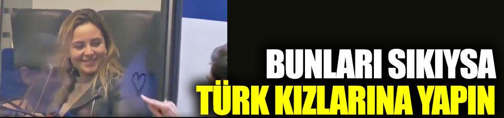 Bunları sıkıysa Türk kızlarına yapın