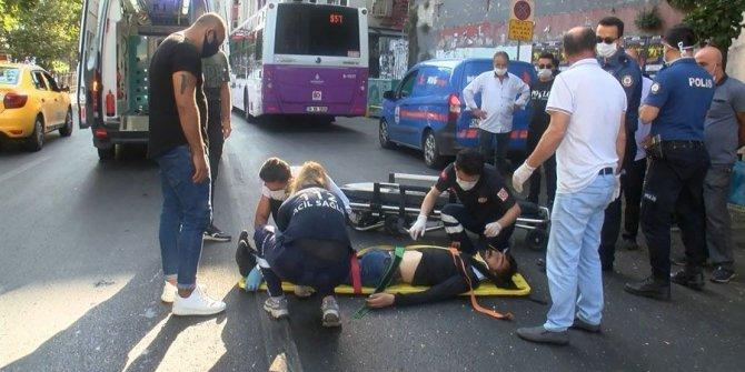Ezberleri bozan kaza: Bu sefer yaya otobüse çarptı