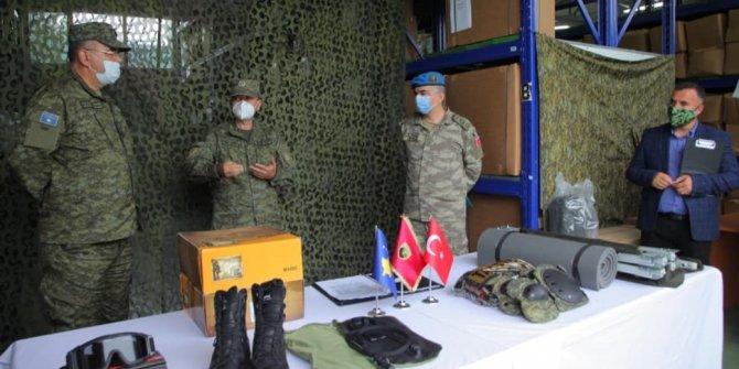 Kosova ordusuna Türkiye'den hibe