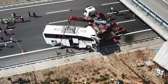 5 kişinin öldüğü otobüs kazasında ilk rapor açıklandı