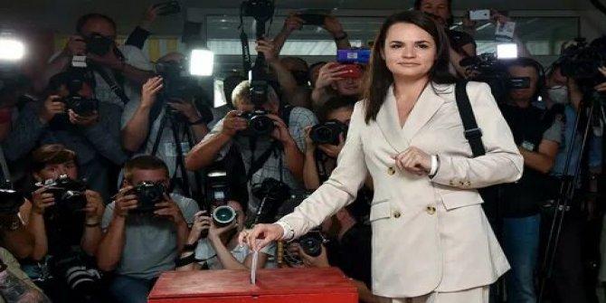 Belarus'ta alarm ortalık yangın yerine döndü! Muhalif lider Tihanovskaya'ya suikast girişimi