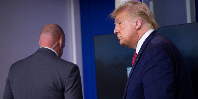 Beyaz Saray'da panik! Trump toplantıdan çıkarıldı