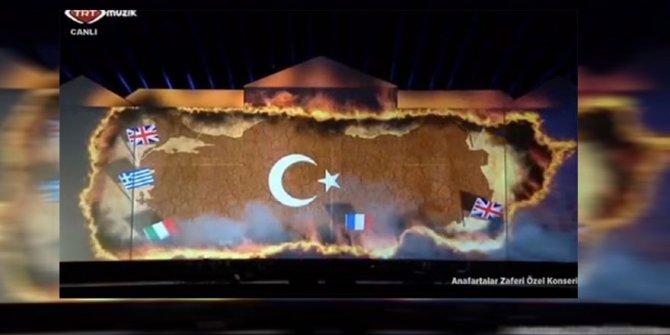 TRT'de büyük skandal: Animasyonda Türk bayrağını yaktılar