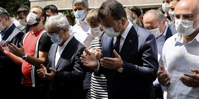 Ekrem İmamoğlu, Mithat Sancar'ın kardeşinin cenazesine katıldı