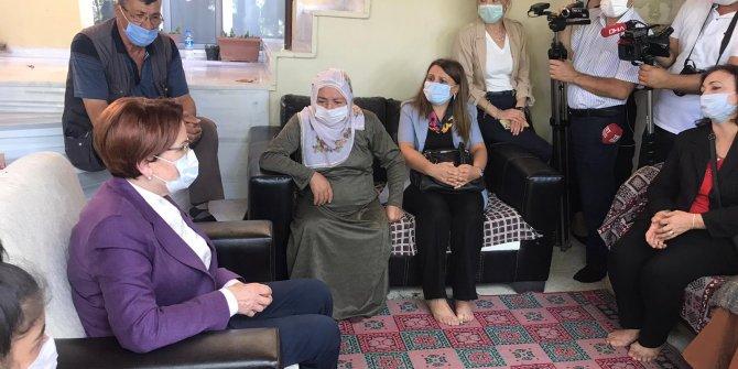Meral Akşener'den Emine Bulut'un ailesine ziyaret