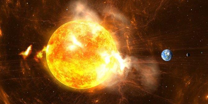 Bilim insanları Güneş'teki Mars büyüklüğünde lekenin neden olacağı felaketi duyurdu