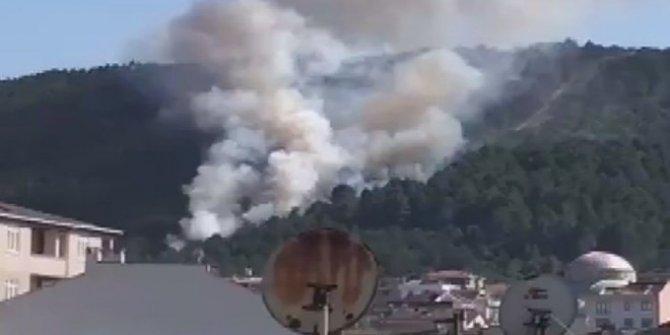 Aydos Ormanı'nda bir yangın daha