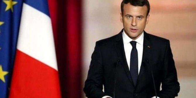 Macron'dan Türkiye karşıtı Doğu Akdeniz paylaşımı!