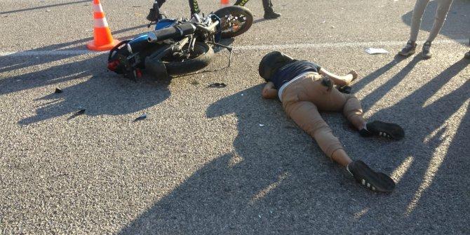 Yeni aldığı motosiklet mezarı oldu