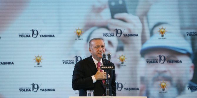 Erdoğan, AKP 19. Kuruluş Yıl Dönümü kutlamasında konuştu