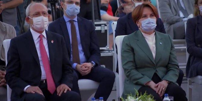Kemal Kılıçdaroğlu ve Meral Akşener Kocaeli'de