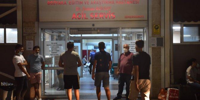 İzmir'de dehşet! Tartıştıkları kişiyi tinerle ateşe verdiler