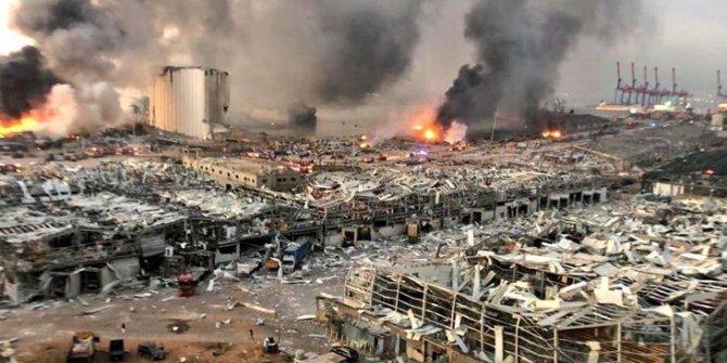 Beyrut Limanı'ndaki patlamada ölü sayısı arttı