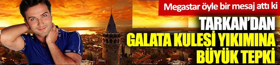 Tarkan'dan Galata Kulesi paylaşımı! Söylecek söz bulamıyorum
