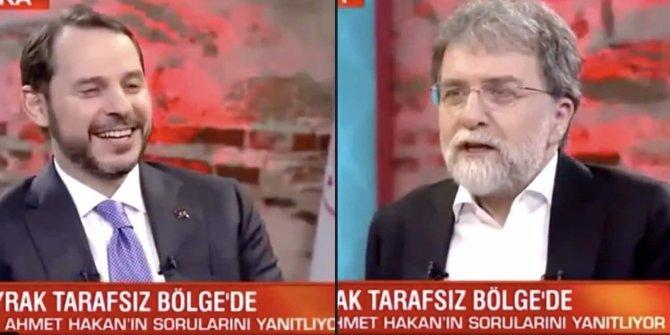 Fatih Altaylı, Berat Albayrak'a beklediği soruyu sormayan Ahmet Hakan'a böyle tepki gösterdi