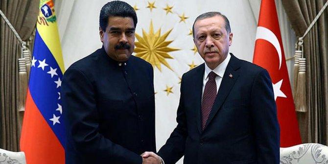 Erdoğan, Maduro ile görüştü