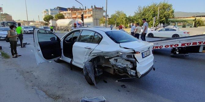 Zincirleme kazada 8 kişi yaralandı
