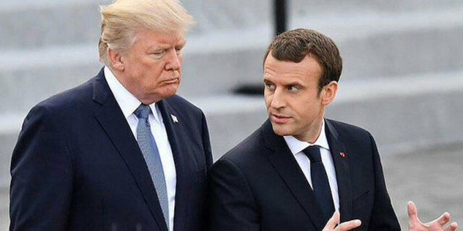 Trump'la Macron arasında 'Türkiye-Yunanistan' görüşmesi