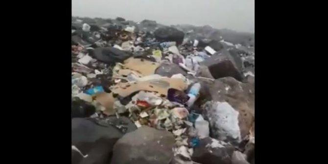 Tahsil cehaleti alır, Eşeklik bakî kalır: Ağrı Dağı'nın zirvesinde çöp dağları bıraktılar!