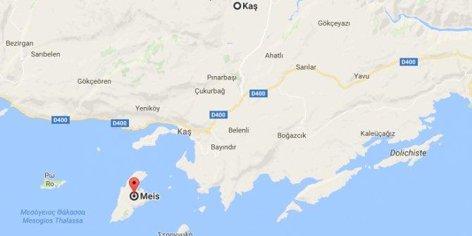 Fransa'nın iki yüzlülüğü, Jersey ve Guernsey adalarına gelince kabul etmiyor, Meis adasında Yunanistan'ı destekliyor