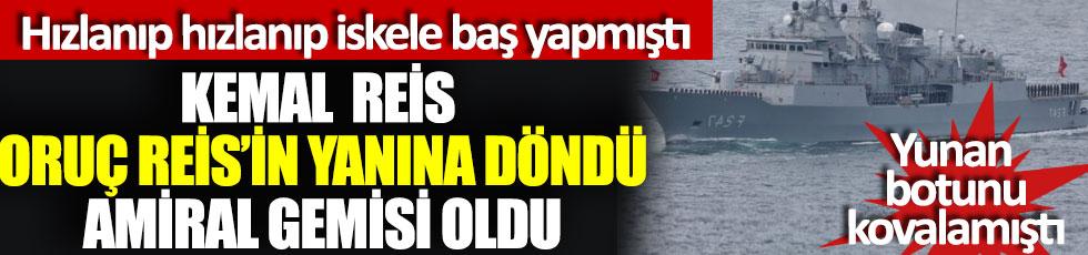 Kemal Reis Oruç Reis'in yanına döndü Amiral gemi oldu, Kıbrıs açıklarında tatbikata gitmişti