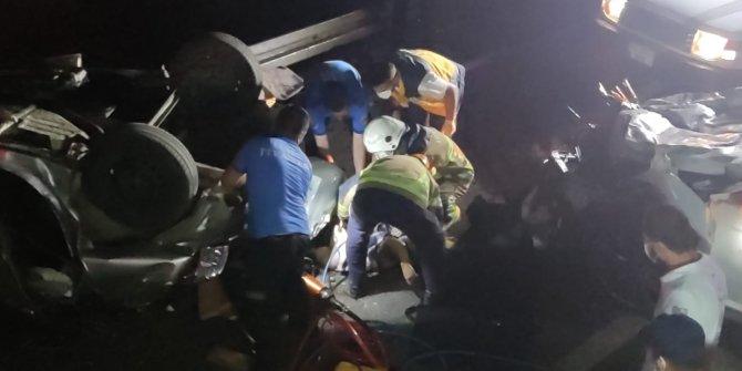 Bursa'da zincirleme kaza: 4 ölü, 6 yaralı